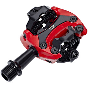 iSSi Flash II Pedals red/black